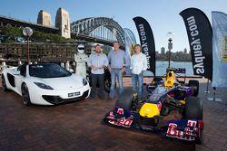 Top Gear UK in de Sydney Harbour