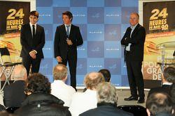 Philippe Signault, Pierre Ragues et Nelson Panciatici