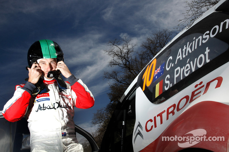 Chris Atkinson, Citroën Total Abu Dhabi World Rally Team