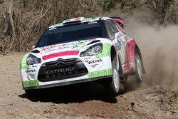 Benito Guerra and Borja Rozada, Citroën DS3 WRC