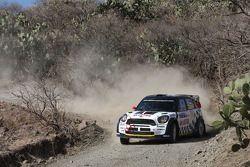 Michal Kosciuszko y Maciek Szczepaniak, Mini John Cooper Works WRC