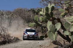 Nasser Al-Attiyah y Giovanni Bernacchini, Ford Fiesta RS WRC, Qatar M-Sport World Rally Team