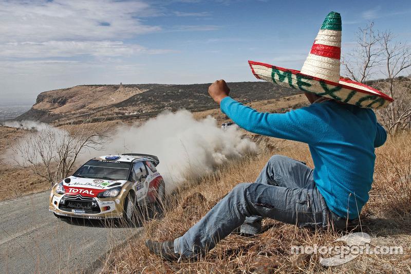 Chris Atkinson en Stéphane Prévot, Citroën DS3 WRC, Citroën Total Abu Dhabi World Rally Team