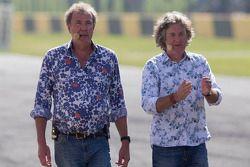 Jeremy Clarkson e James May