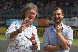 James May and Steve Pizzati