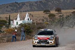 Chris Atkinson y Stéphane Prévot, Citroën DS3 WRC, Citroën Total Abu Dhabi World Rally Team
