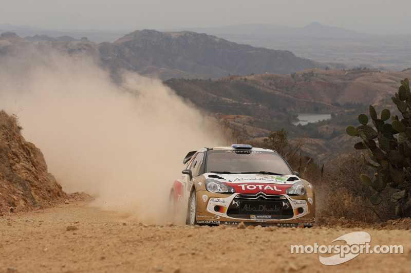 Chris Atkinson en Stéphane Prévot, Citroën DS3 WRC, Citroën Total Abu Dhabi World Rally Team