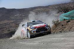 Mikko Hirvonen et Jarmo Lehtinen, Citroën DS3 WRC, Citroën Total Abu Dhabi World Rally Team
