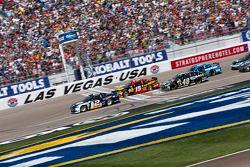 Start: Brad Keselowski, Penske Racing Ford leads the field