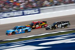 Kasey Kahne, Clint Bowyer and Jimmie Johnson