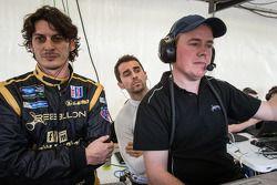 Andrea Belicchi, Nicolas Prost, chefe de equipe Rebellion Racing Bart Hayden