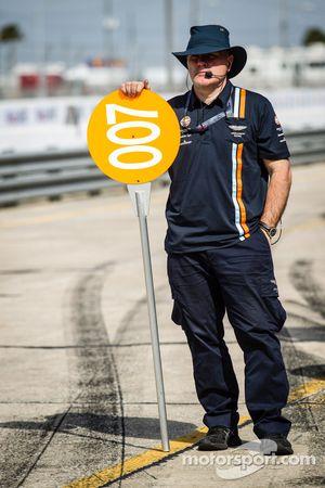 Membro da equipe Aston Martin Racing