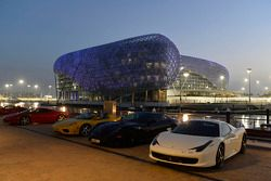 Ferraris at dusk