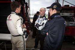 Scott Tucker, Marino Franchitti and Ryan Briscoe