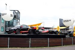 Renault Sport stand outside padok