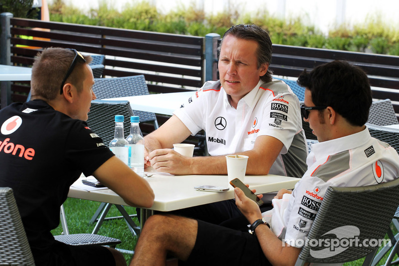 Sam Michael, McLaren Director deportivo con Sergio Pérez, McLaren