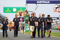 Jean-Eric Vergne, Scuderia Toro Rosso pist yürüyüşü