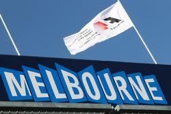Melbourne e sua placa