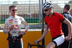 Paul di Resta, Sahara Force India F1 ve David Coulthard, Red Bull Racing ve Scuderia Toro Rosso Danı