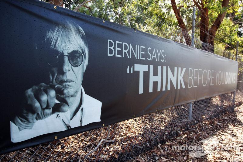 Anuncio de Anti conductores alcoholizados con Bernie Ecclestone