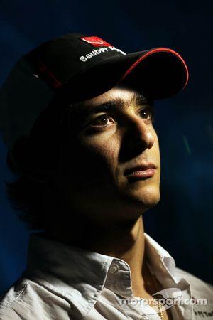 Esteban Gutierrez, Sauber at the Melbourne Aquarium