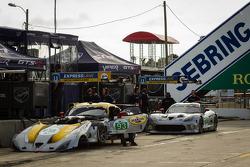 #93 SRT Motorsports SRT Viper GTS-R: Jonathan Bomarito, Tommy Kendall, Kuno Wittmer, #91 SRT Motorsp