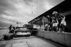 Treino de mudança de piloto para #91 SRT Viper GTS SRT Motorsports-R: Ryan Dalziel, Dominik Farnbach