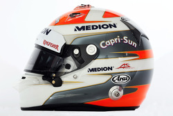 De helm van Adrian Sutil, Sahara Force India F1