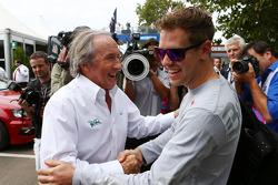 Sebastian Vettel, Red Bull Racing et Jackie Stewart