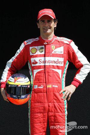 Pedro De La Rosa, Ontwikkelingsrijder Ferrari