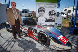Dr. Don Panoz com o novo DeltaWing Racing Cars, DeltaWing LM12 Elan Coupé