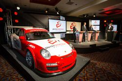 Coletiva da Sports Car Series: American Le Mans Series Presidente e CEO Scott Atherton, GRAND-AM Pre