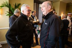 Coletiva da Sports Car Series: Alex Job e Dr. Wolfgang Ullrich