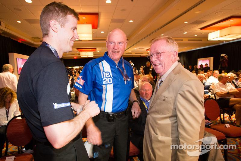 Coletiva da Sports Car Series: Chris Dyson, Rob Dyson e Dr. Don Panoz