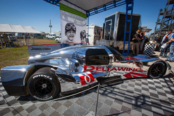 O novo DeltaWing Racing carros DeltaWing LM12 Elan Coupé