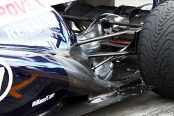 Valtteri Bottas, Williams FW35 uitlaat en achterwielophanging