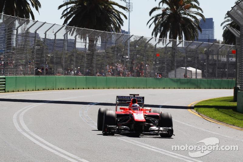 El debut de Jules Bianchi en Fórmula 1