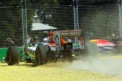 Paul di Resta, Sahara Force India VJM06 rejoins the circuit