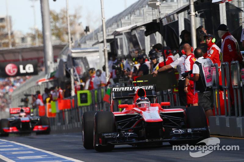 2013 год стал последним, когда на трассу в Мельбурне Формула 1 приехала с машинами, оборудованными атмосферными двигателями V8