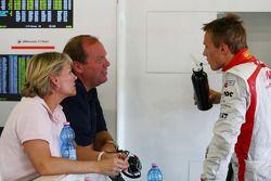 Max Chilton, Marussia F1 Team ve his parents