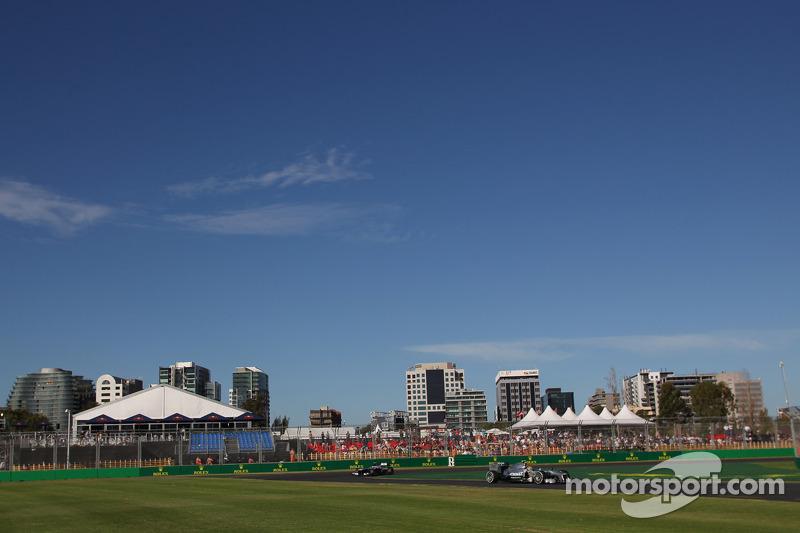 Льюис Хэмилтон. ГП Австралии, Вторая пятничная тренировка.