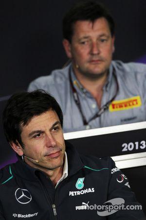 Toto Wolff, Mercedes AMG F1 Hissedarı ve Direktörü FIA basın toplantısı