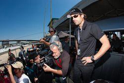 Patrick Dempsey GTC pole winning comemoração