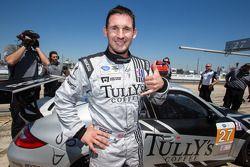 GTC pole Andy Lally celebra