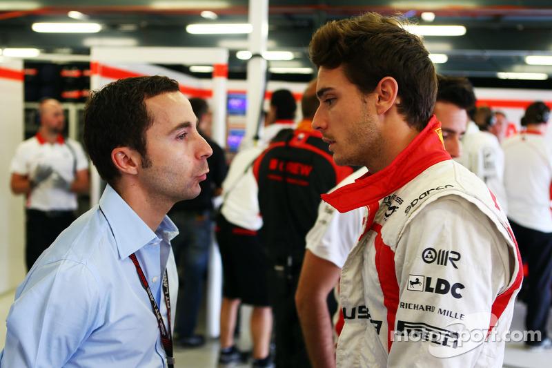 Nicolas Todt, Manager de pilotos con Jules Bianchi, Marussia F1 Team