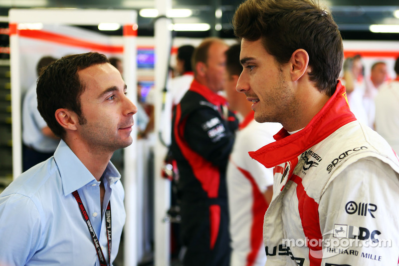Nicolas Todt, Pilot Menajeri ve Jules Bianchi, Marussia F1 Team