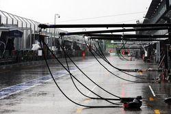 Heavy rain postponed Sıralama Turları until Sunday morning