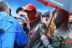 Jenson Button, McLaren medya ile