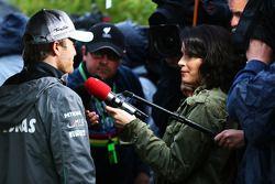 Nico Rosberg, Mercedes AMG F1 medya ile