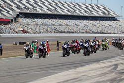 Daytona Sportbike Race Start